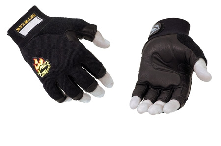 Setwear Leather fingerless Work Gloves